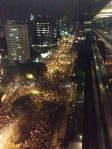 Protests-Brazil-peaceful millions of people in streets