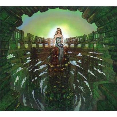 "COVER ART FOR ""KASHMIR: THE SYMPHONIC LED ZEPPELIN - LONDON PHILHARMONIC ORCHESTRA"" BY JAZ COLEMAN."