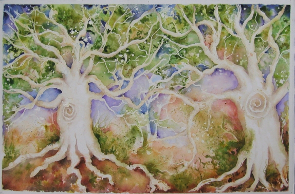 """SPIRIT TREE 1"" BY WISE OWL KATE"