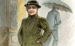 Silk Hat Braving The Storm