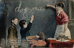 A Master Instructing His Disciple