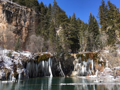 """HANGING LAKE"" - Glenwood SPRINGS, COLORADO TAKEN BY WISE OWL LAWRENCE"