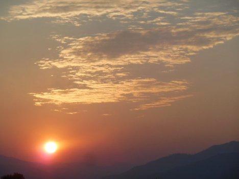 """smoky sky sunrise from el prado, new mexico"" taken by wise owl deborAH"