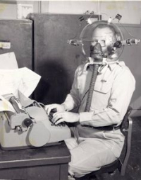An Inventor Performing A Laboratory Experiment