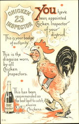 Intoxicated Chickens