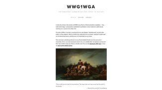 Martin Geddes WWG1WGA